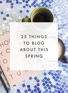 25 Spring Blog Post