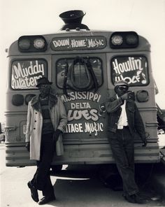 Mississippi Blues. Muddy Waters & Howlin Wolf. Bromance.