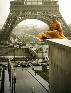 "Call to Practice for Paris: ""Let's support our French brothers and sisters in this traumatic time through tonglen practice: visualize as you breathe in you are inhaling the suffering of all those affected as the breath turns around flash on emptiness and exhale love peace, and compassion.""  -Lama Tsultrim Allione-"