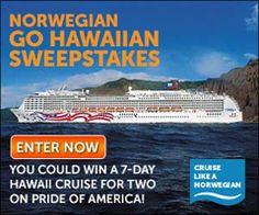 Norwegian Go Hawaiian Sweepstakes