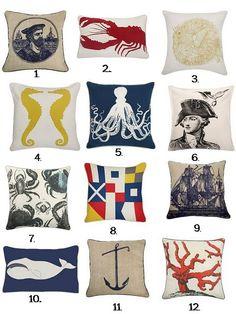 Thomas Paul Nautical Pillows
