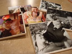 I think these picture coasters would be a great Grandparent gift for Christmas!