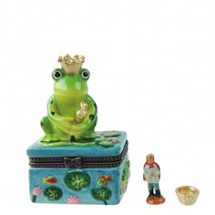 Children's Jewelry Boxes Frog Prince
