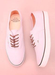Love these Pink Vans! los quiiiiiiiieroooooooo !!!!