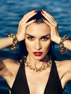 Fashiontography: Paz Vega by Nico