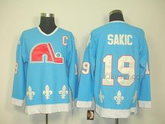 http://www.xjersey.com/nordiques-19-sakic-light-blue-jersey.html Only$46.00 NORDIQUES 19 SAKIC LIGHT BLUE JERSEY #Free #Shipping!