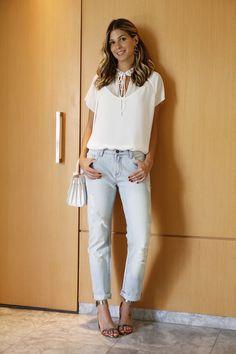 Look do dia Jeans e Branco bobstore2