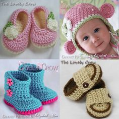 any 2 crochet patterns for baby $10.75