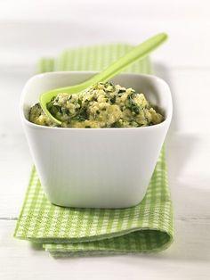 Polenta-Spinatbrei mit Ei | Auch wenn inzwischen oft das Gegenteil behauptet wird: Spinat ist durchaus ein guter Eisenlieferant, ebenso Eigelb.