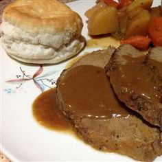 Slow Cooker Eye of Round Roast With Vegetables Allrecipes.com