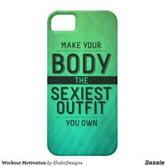 Workout Motivation iPhone 5 Covers