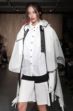 Kingston University postgraduate fashion student Boyang Jiang's work on the catwalk at the MA Fashion show 2016. Find out more about the show: http://www.kingston.ac.uk/news/article/1721/16-sep-2016-kingston-universitys-ma-fashion-students-showcase-latest-collections-to-industry-experts-on-eve-of-london/?utm_source=Pinterest&utm_medium=Social&utm_campaign=KUPinterest&utm_content=MAfashpinterest