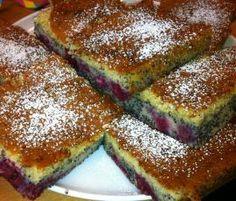 Rezept Mohn-Kirschkuchen von ThermoHase - Rezept der Kategorie Backen süß