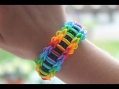 Rainbow Loom Nederlands - Dragon Scale || Loom bands, rainbow loom, nederlands, tutorial, how to - YouTube