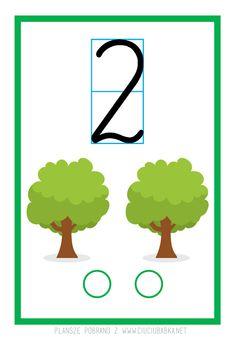 Plansze dydaktyczne od 0 do 10 do druku :) - Kreatywne pomysły na zabawy z dziećmi Montessori, Kindergarten, Children, Blog, Fictional Characters, Numbers Preschool, Therapy, Paper, Cuba