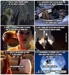 E.T. is a fricking Jedi!