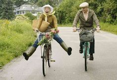 Oh, the joy of bicycling - you can never forget
