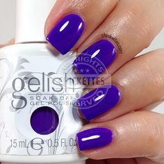 Gelish Anime-zing Color! - Chickettes.com