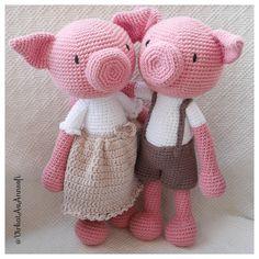 Nu behöver inte Gillis vara ensam längre... Här har vi grisen Gina Puss och Kram... @VirkatAvAnnsofi
