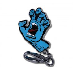 Santa Cruz Screaming Hand Fob