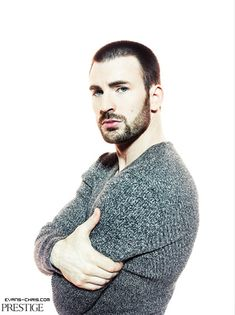 chris evans. in a sweater. gimme. wrap me in those arms