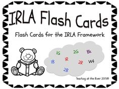 "I've made NEW AND IMPROVED flashcards but I'm leaving the same great low price! These cards go with the IRLA Framework from the American Reading Company.You will receive a ""Zip Folder"" with the following PDF files:1G Power Words2G Power Words2G Category Words1B Tricky Words2B Tricky Words1R Tricky Words2R Tricky Words2R Outlaw WordsWt Outlaw WordsBk Outlaw Words*The sets are colored for their level and also have a black and white set for a nice crisp dark print while saving color ink. (Wt…"