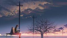 5 Centimeters Per Second (2007) #animation #drama #romance  #movies…