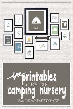 Camping Free Printables
