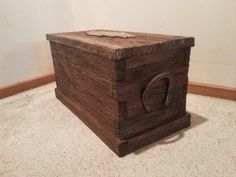 Rough Western Cedar Lined Chest www.toddsrusticcreations.com