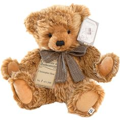 Silver Tag Collectible Bear - Christopher