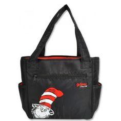 Trend Lab Diaper Bag - Dr. Seuss Cat In The Hat Tulip Tote   Buy at ABabySurprise.com