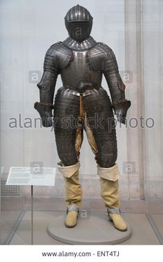 Armor For A Member Of The Barberini Family. Steel, Engraved, Gilt And Stock Photo, Picture And Royalty Free Image. Pic. 82279922