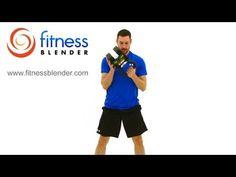 Kettlebell HIIT Workout - Fitness Blender HIIT Kettlebell Training  #intervals #hiitworkout #hiit