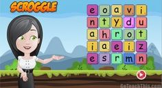 Boggle Online - a colorful, engaging classroom boogle game for your whiteboard & other devices. Great for no prep spelling lessons Word Games For Kids, Game Ui Design, Phonics Games, Space Games, Interactive Whiteboard, Boggle, Reading Games, Cvc Words