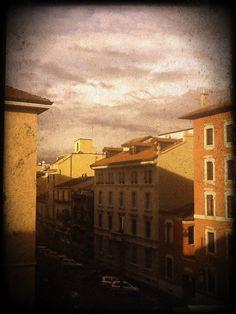 milan today, after rain