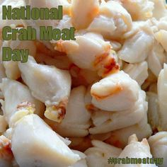 National Crab Meat Day - March 9, 2017