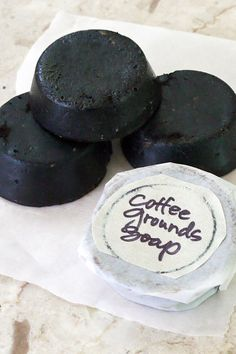 Make Soap From Used Coffee Grounds