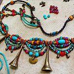 Ethnic jewelry in progress by AowDusdee