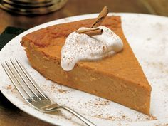 I have made this fake pumpkin pie for ages. I use reduced fat bisquick and more egg whites than yokes. LOVE IT!