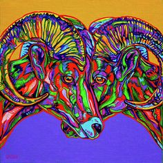 I don't know HOW I've missed Derrick Higgins artwork...I love his use of strong color and patterns.