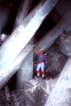 Chihuahua, Mexico - a magnificent cave found in a mine - who would not want to go see this!!
