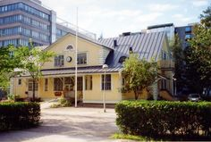 "Rauhanasema ""Peace station"", the old railway station of Pasila,  Helsinki"