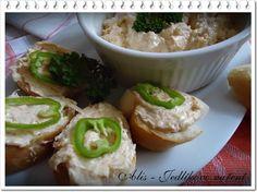 Jedlíkovo vaření: Pomazánka z uzené makrely  #recept #pomazanka #svacina