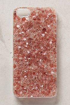mermaid mica pink jeweled iPhone case #anthrofave