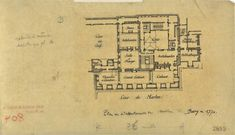 Madame du Barry's apartment as of 1770