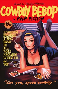 Cowboy Fiction, or Pulp Bebop