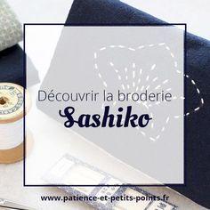 """DÉCOUVRIR : débuter le sashiko avec le kit """"pour débuter"""" de Satomi Sakuma"""