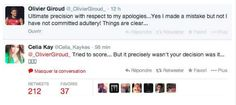 Celia Kay fracasse Olivier Giroud sur Twitter - http://www.actusports.fr/90537/celia-kay-fracasse-olivier-giroud-sur-twitter/