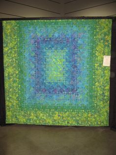 Blooming Nine Patch by dragonflyquiltworks, via Flickr