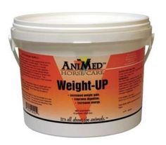 Animed Weight-Up 10lb by AniMed. $21.59. AniMed Weight-UP with Live Yeast Cultures More than just a supplemental source of calories and fat required to increase weight, AniMed's exceptional formulation of Weight-UP offers support for a horse's normal digestive system. . Ability to gain and maintain optimal weight is affected by the overall reliability of a horse's digestive system - Weight-UP helps provides the support needed . Contains Lacto-Mos which is a lactic ac...